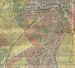 Карта 1947 года