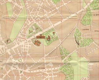 Карта 1958 года