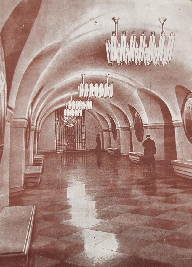 Станция «Вокзальная». Подземный вестибюль