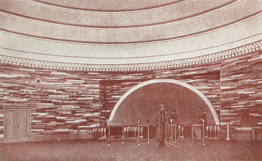 Эскалаторный зал станции «Крещатик»