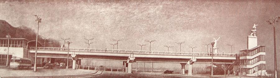 Станция «Днепр». Общий вид со стороны набережной