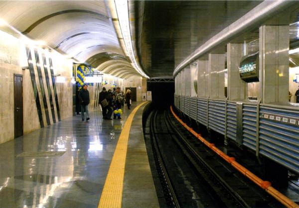 Станция «Вырлица». Фото: Вадим Дзыгун (http://metropoliten.kiev.ua)