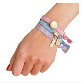 hair elastic band bracelet 500 sampe to use