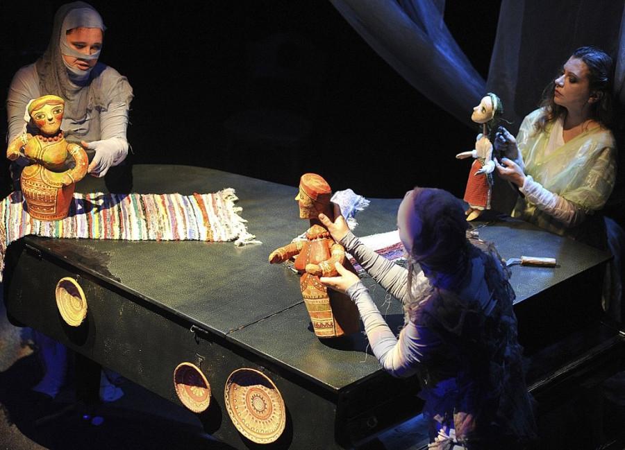 Закарпатський театр Бавка, Сцена з вистави Лісова пісня