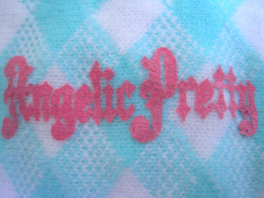 Angelic Pretty Sugar Fairy Crew socks (Mint x White)