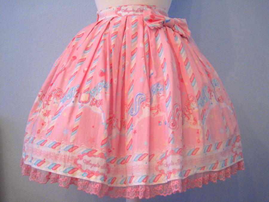 Angelic Pretty Sugary Carnival skirt (pink)