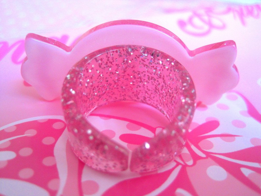 Angellic Pretty Milky Candy Ring (pink)