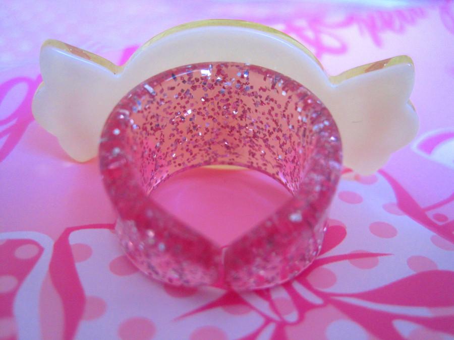 Angellic Pretty Milky Candy Ring (yellow)