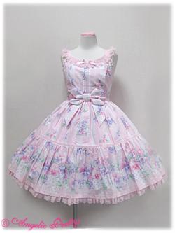 Angelic Pretty Sugar Pansy Tiered JSK (pink) 260,00 € 1