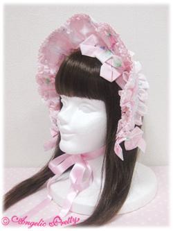 Angelic Pretty Sugar Pansy Half Bonnet (pink) 1 79,00 €