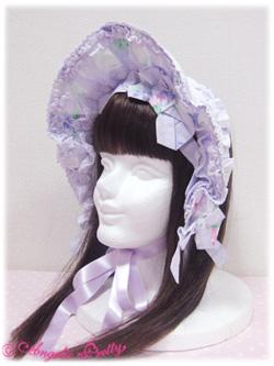Angelic Pretty Sugar Pansy Half Bonnet (lavender) 1 79,00 €