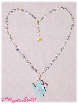 Angelic Pretty Tea Pot Cookie necklace (sax)