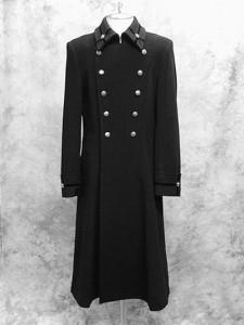 Moi-meme-Moitie Crest Middle Coat (2) EGA-19477BK2 01