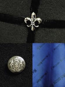 Moi-meme-Moitie Crest Middle Coat (2) EGA-19477BK2 04
