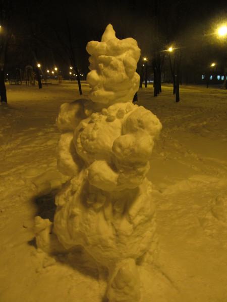 снеговой человек