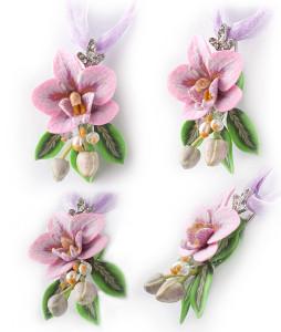 Розовая орхидея фаленопсис