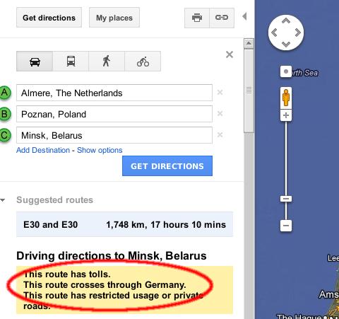 google-warns