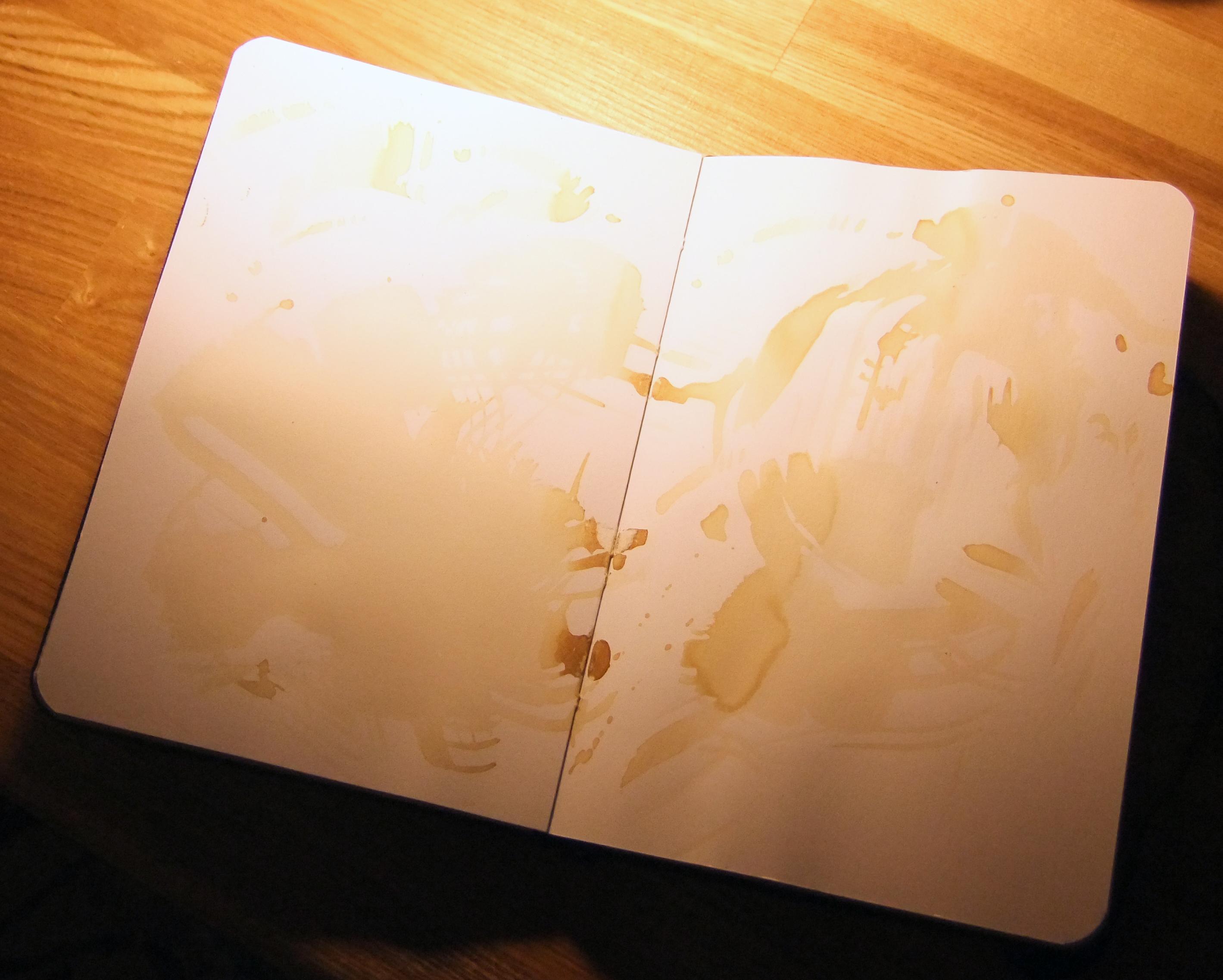 Как вывести жирные пятна с белого листа фото