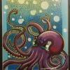 Octopus by artist Alex Lanau, MiMis brother, hanging in my hallway