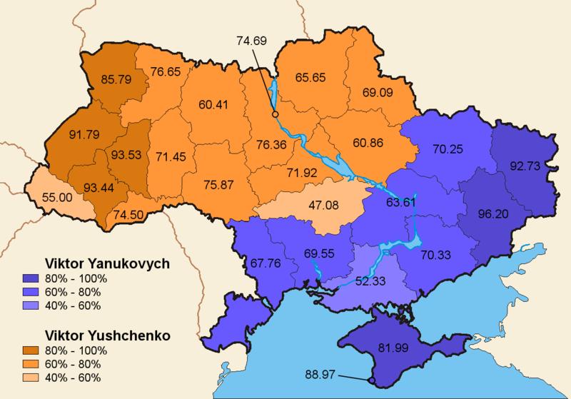 Как нам победить на выборах на Украине 800px-Ukraine_ElectionsMap_Nov2004