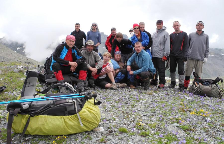 Кавказ 2012. Наша группа