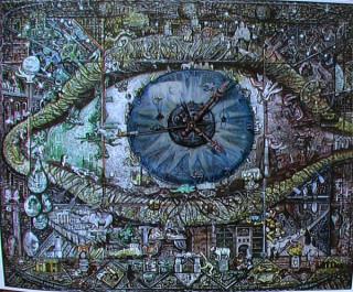 Алекс Родин, Голубой глаз, левый, 2004 г.