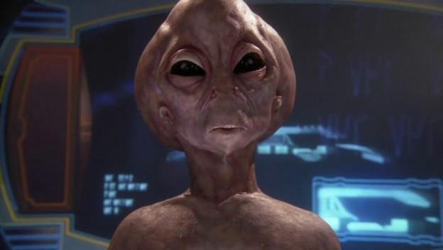 sarcastic aliens (sans pants)