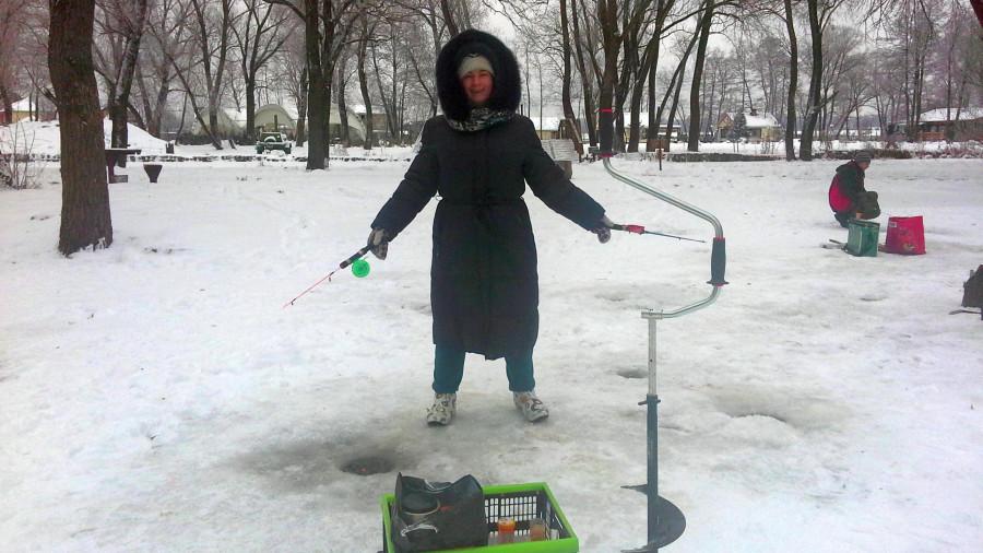 зимняя рыбалка после водки