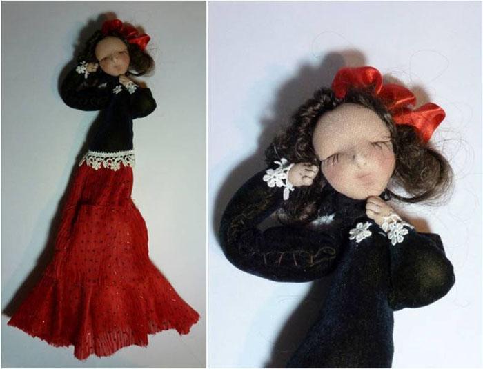 первая кукла м