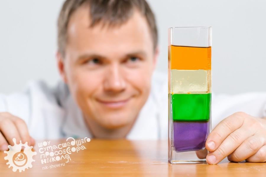 опыты с жидкостями в домашних условиях