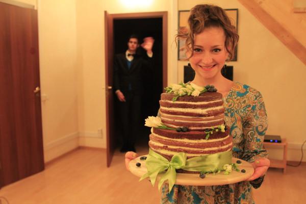 А вот и торт