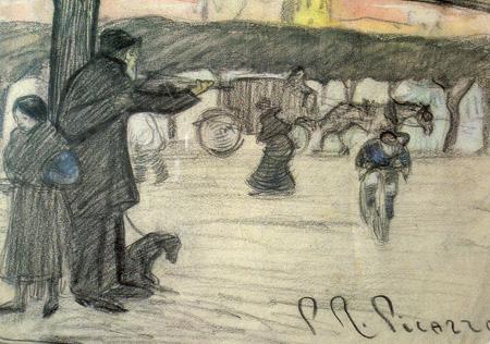 picasso - street violinist