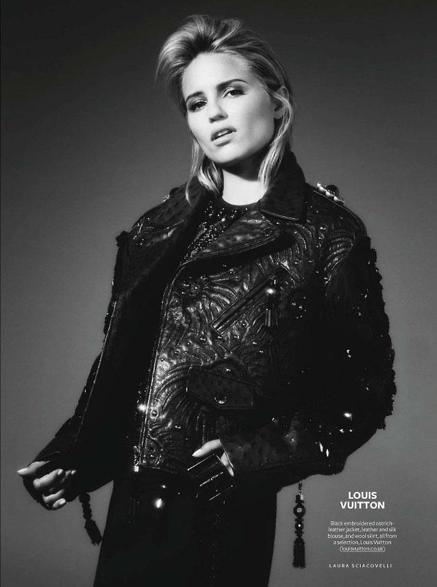 Dianna Agron Photoshoot 2014 A Beautiful Ladies Pos...