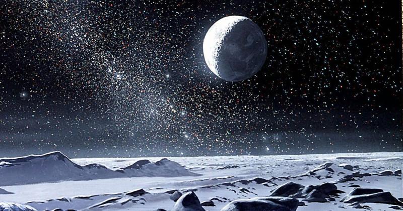 Красиво, но это пустота, одинаковая пустота вселенной.