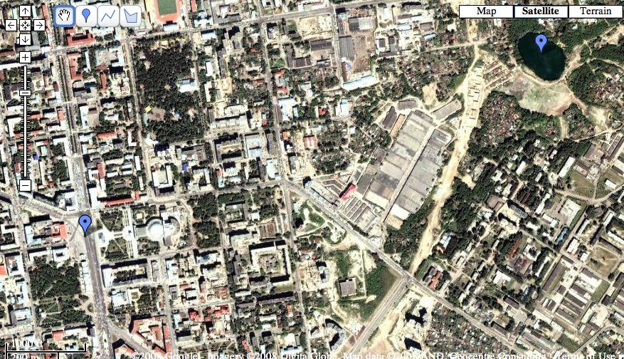 Изучая Google maps