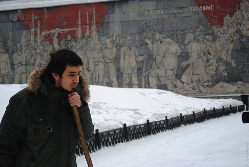 Несанкционированная уборка снега