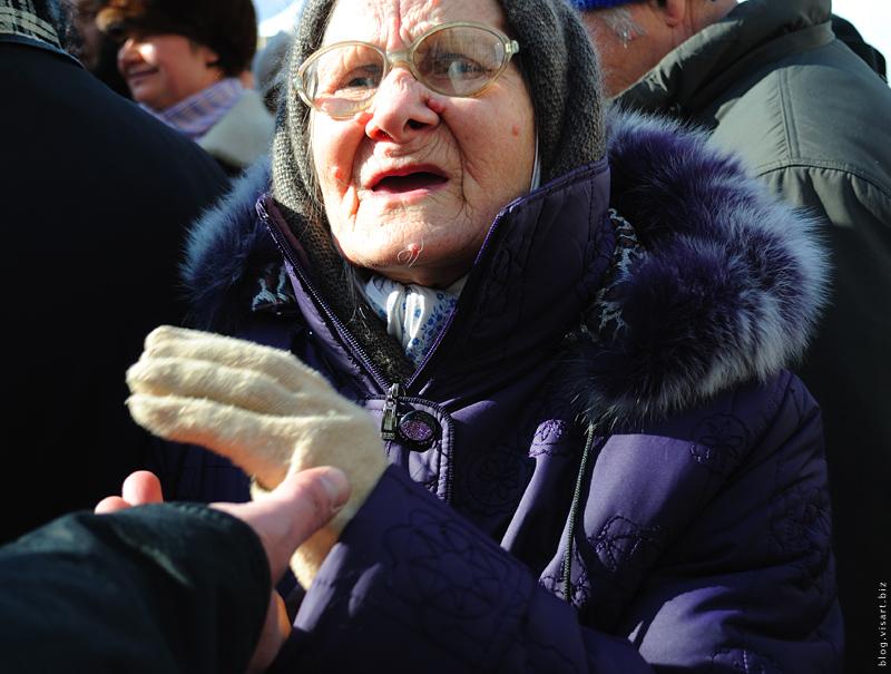 Как пенсионеры с вилами на Заксобрание ходили