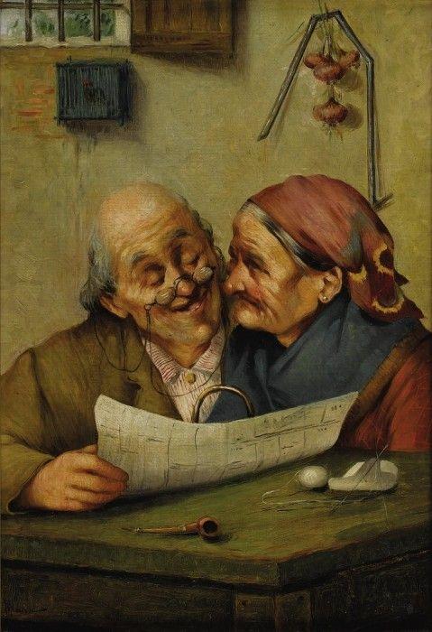 Claudio Rinaldi. Счастливая пара.
