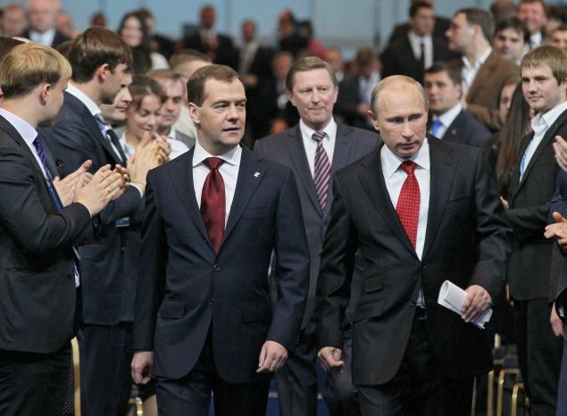 Путин, Медведев, Иванов - походка стрелка