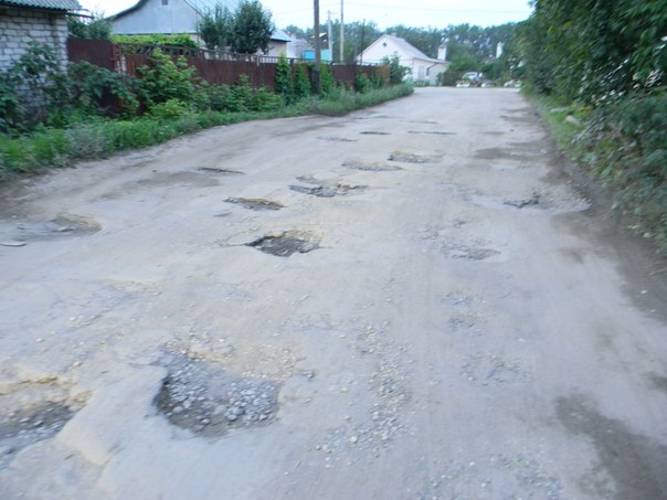 Жалоба на яму дороге образец