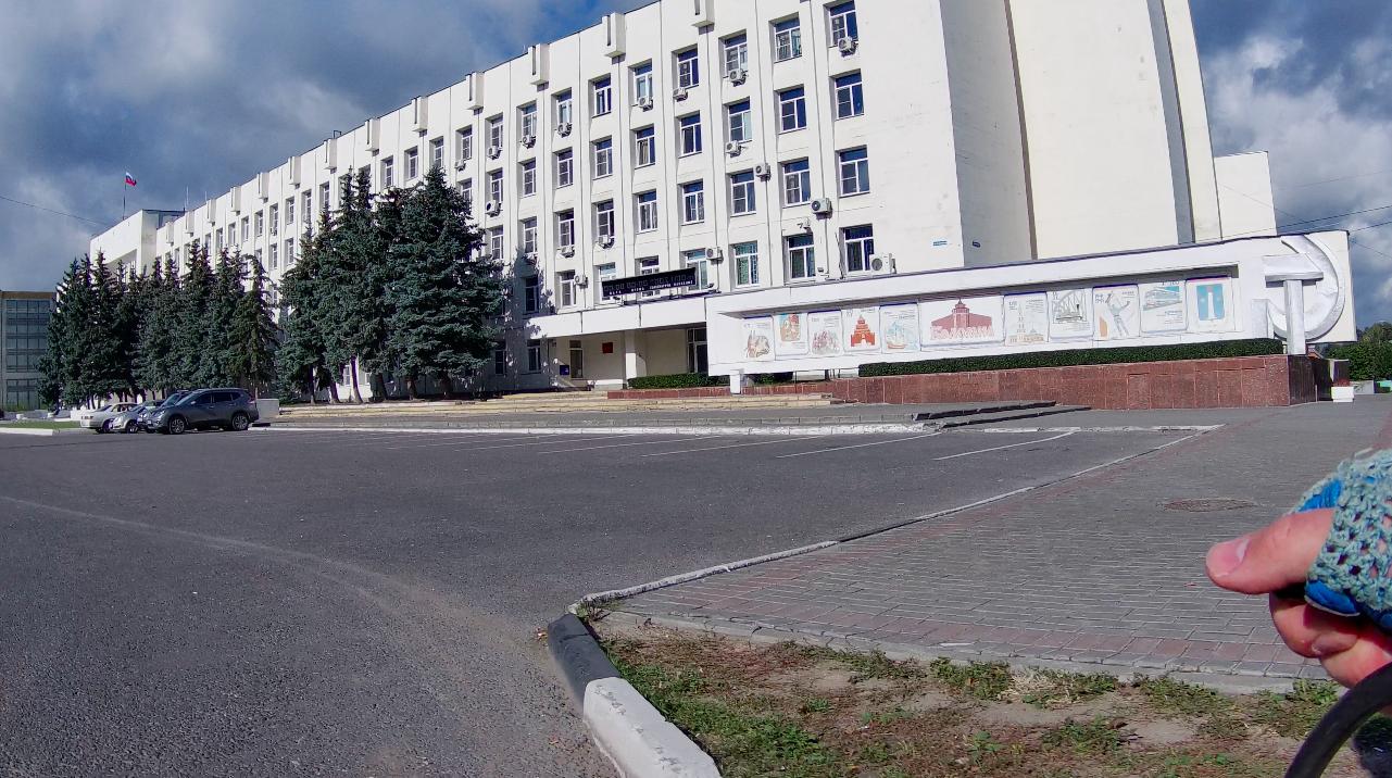 Здание администрации и суда