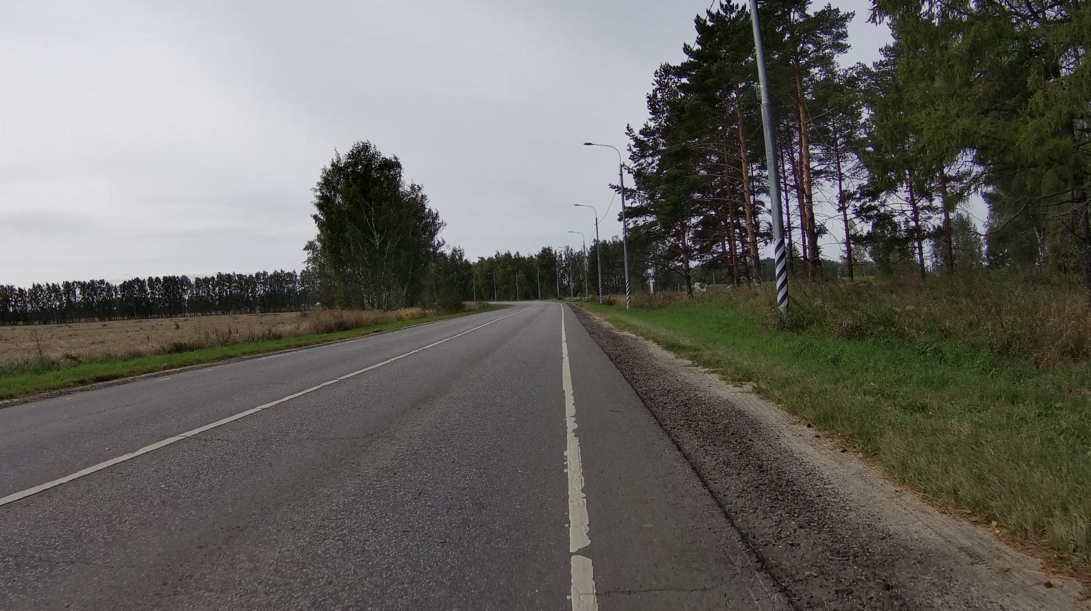 Лишенная трафика дорога до Зарайска (46К-5362)