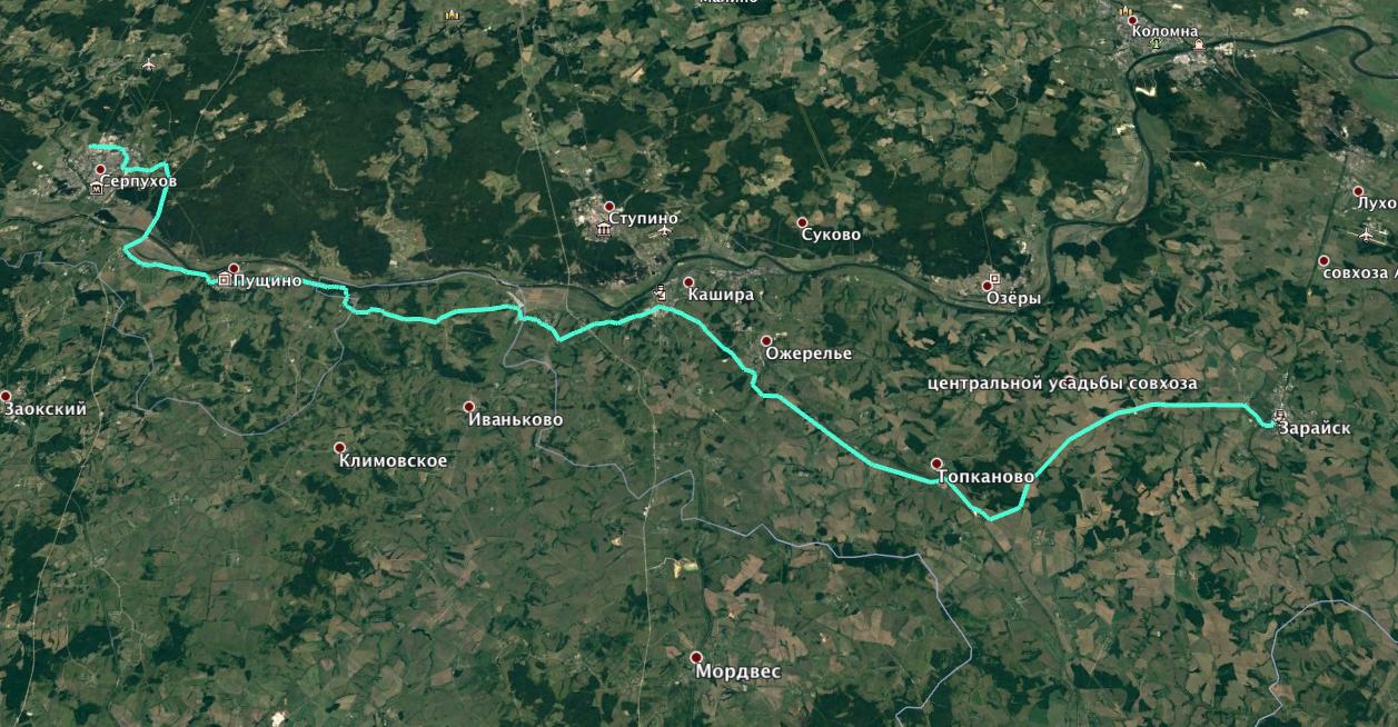Маршрут (Google Earth)
