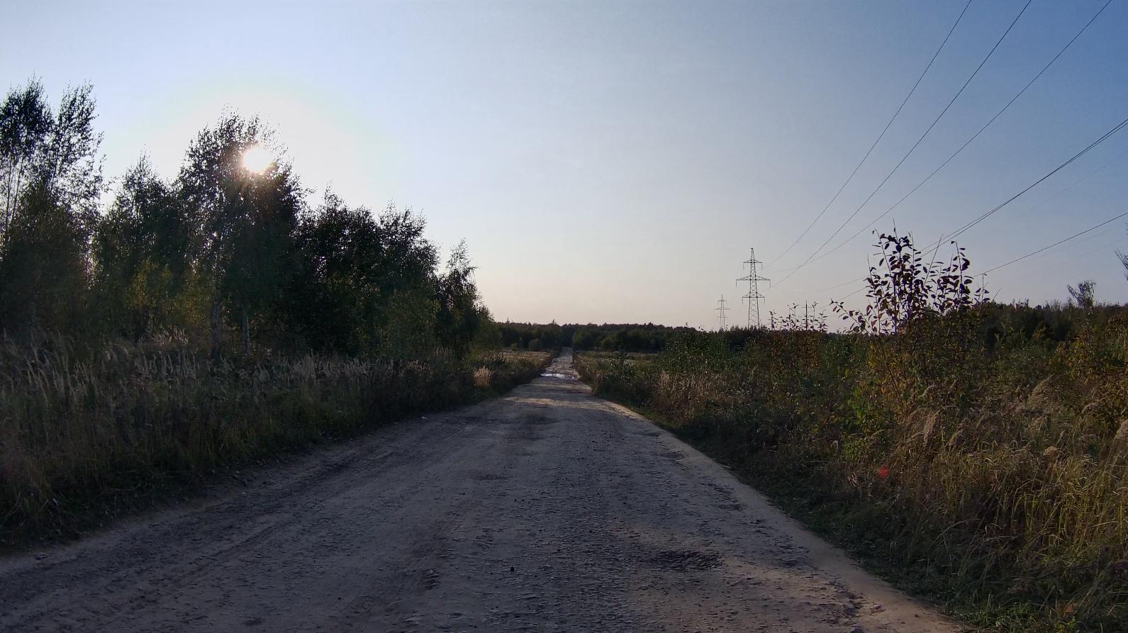 Знакомая поверхность дороги
