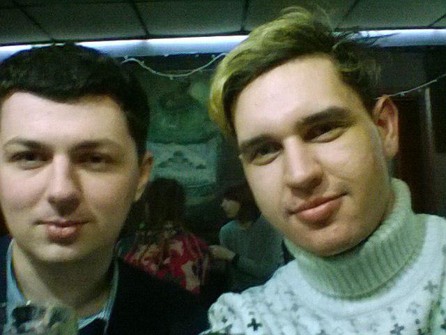 С Олесем в Барбакане