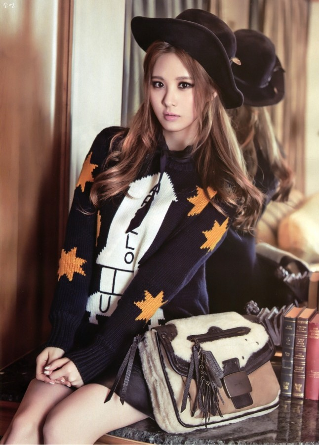 Girls' Generation Seohyun, Fashion Photo Shoot In Gold Heels http ...