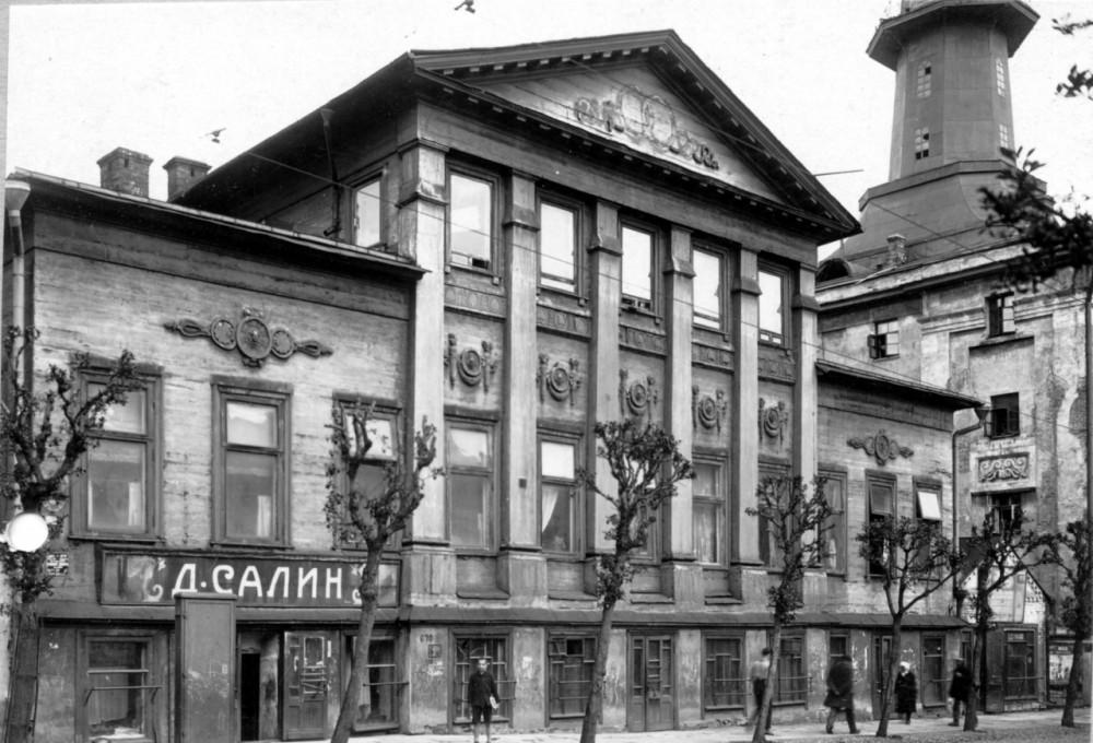 64113 Дом Перовских на Новой Басманной (вариант №2)