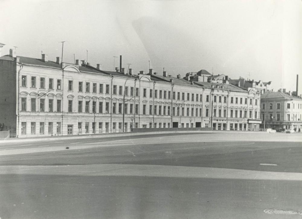 351887 Дома на Тургеневской площадиСергей Лисевицкий нач. 70-х