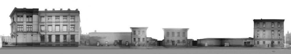 633817 Панорама Водопьяного переулка сер. 30-х