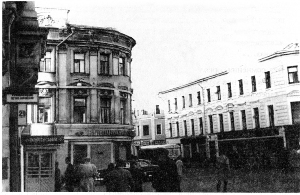27357 Кировские (Мясницкие) ворота В.Г.Смолицкий нач. 60-х
